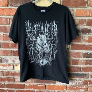 All shall perish concert t shirt large